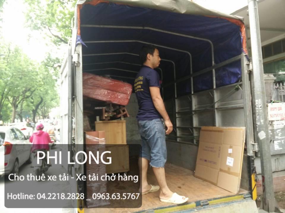 Cho thuê xe tải chở hàng giá rẻ tại phố Tố Hữu