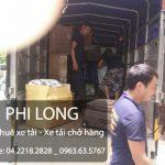 Taxi tải Phi Long cho thuê xe tải giá rẻ tại phố Hoàng Minh Giám