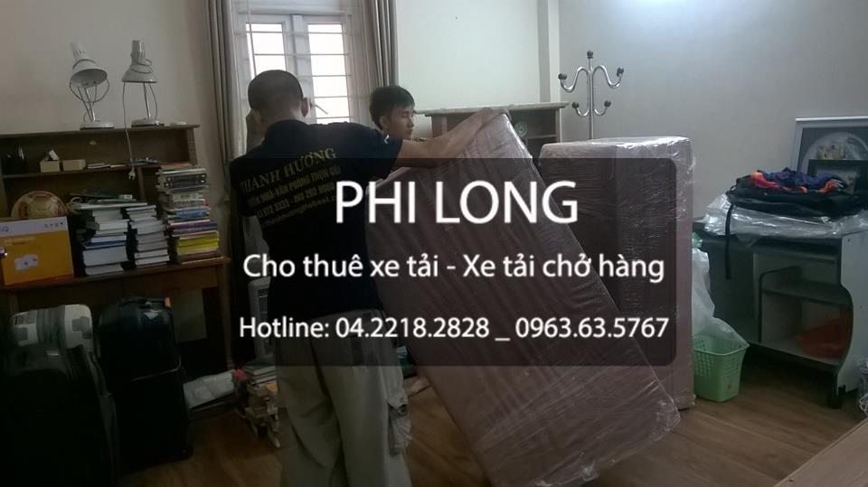 Cho thuê xe tải chở hàng giá rẻ tại phố Hoàng Minh Giám