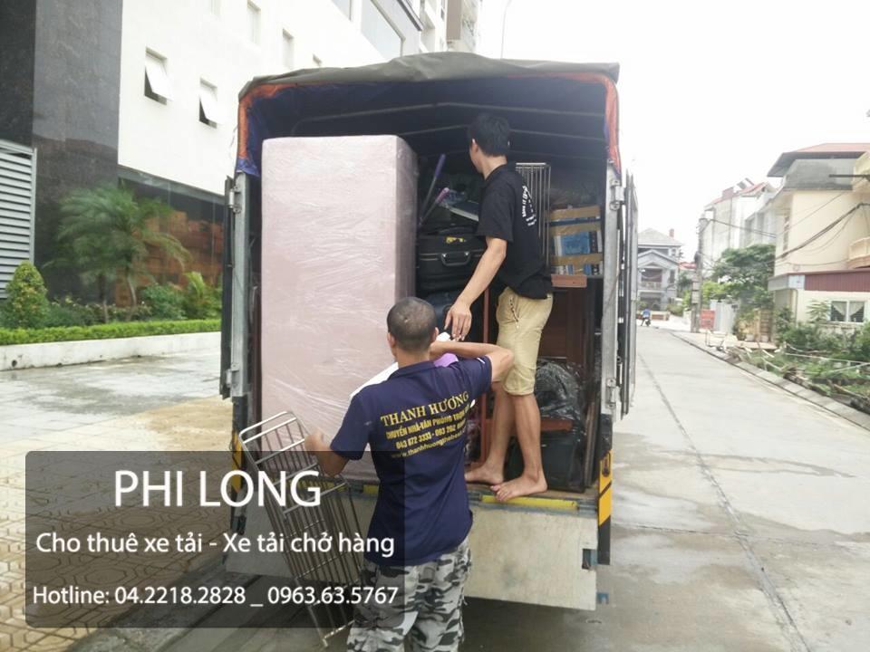 Dịch vụ cho thuê xe tải và chuyển nhà chuyên nghiệp nhất Phi Long
