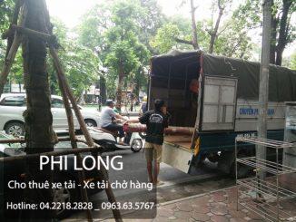 Dịch vụ cho thuê xe tải chở hàng giá rẻ chuyên nghiệp tại phố Lê Văn Lương