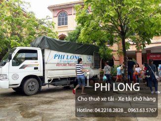 Phi Long cho thuê xe tải chở hàng tại phố Nguyễn Chánh