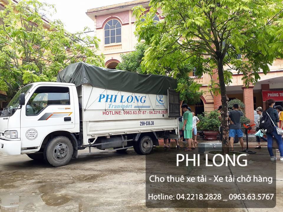Taxi tải Phi Long tại phố Nguyễn Thị Thập