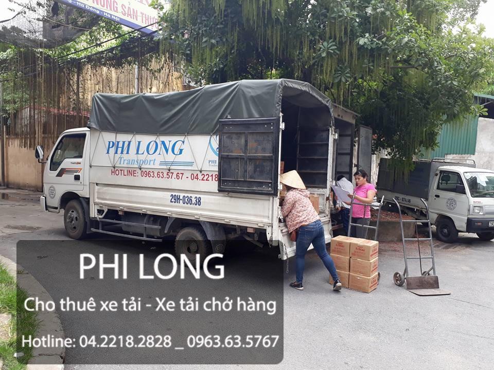 Cho thuê xe tải chở hàng tại phố Nguyễn Thị Thập