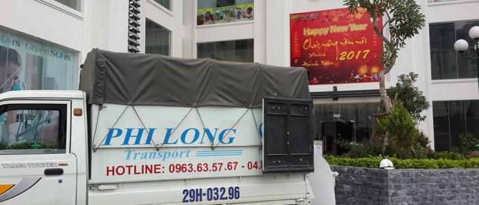 Cho thuê xe tải tại quận Hoàn Kiếm