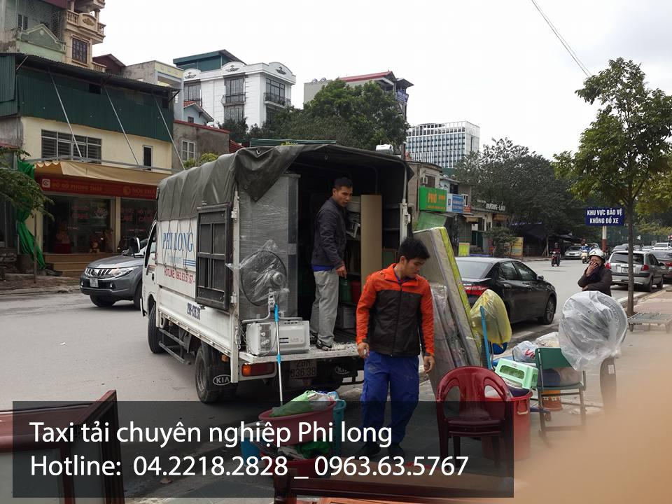 Dịch vụ vận tải Phi Long tại quận Hoàn Kiếm