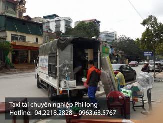Cho thuê xe tải chuyển nhà giá rẻ Phi Long tại quận Long Biên