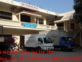 Dịch vụ taxi tải Phi Long tại quận Từ Liêm
