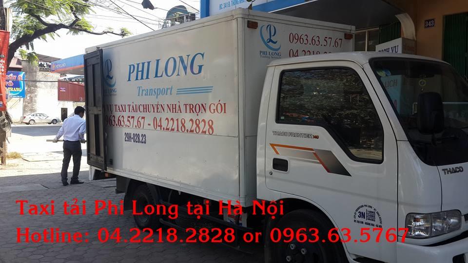Dịch vụ cho thuê xe tải Phi Long tại quận Hai Bà Trưng