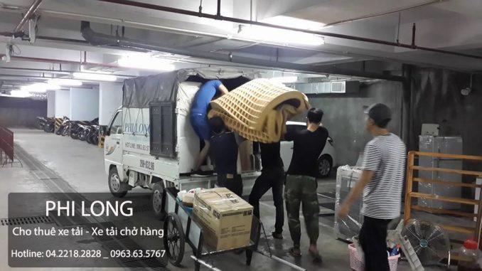 Dịch vụ cho thuê xe tải chở hàng tại phố Quan Nhân