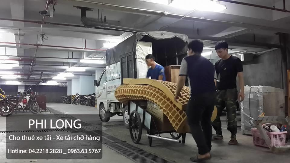 Dịch vụ cho thuê xe tải chở hàng tại đường Chiến Thắng