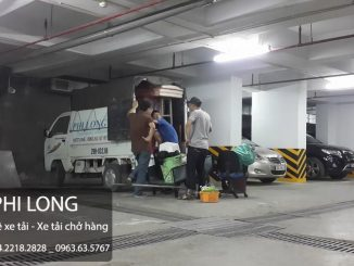 Dịch vụ cho thuê xe tải tại phố Hoàng Đạo Thúy