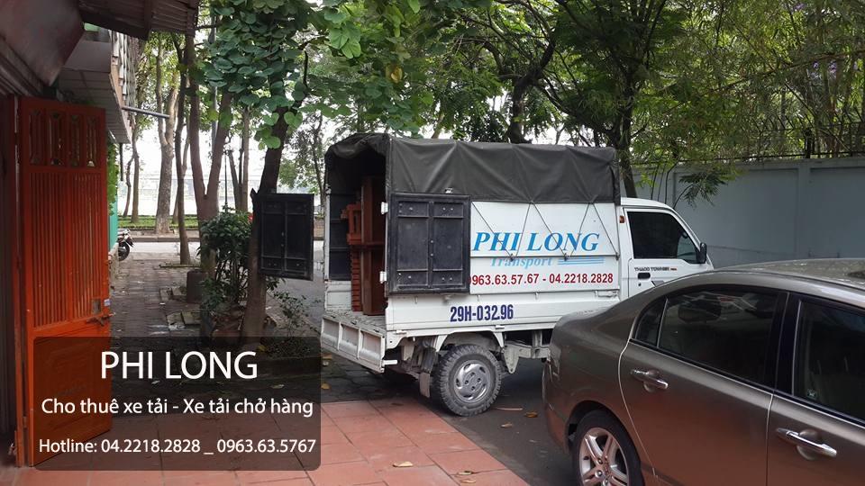 Dịch vụ cho thuê xe tải chuyển nhà tại phố Nhân Hòa