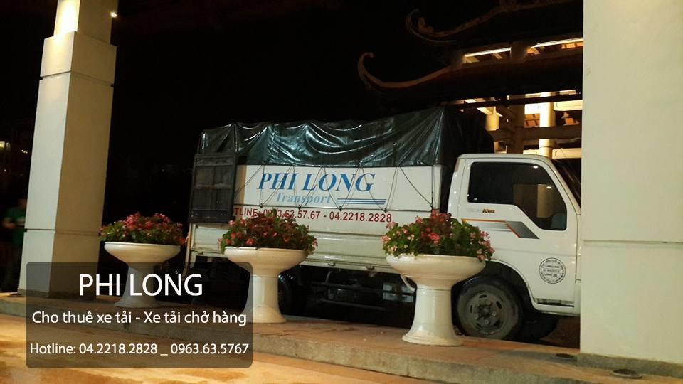Dịch vụ cho thuê xe tải giá rẻ tại phố Quan Nhân