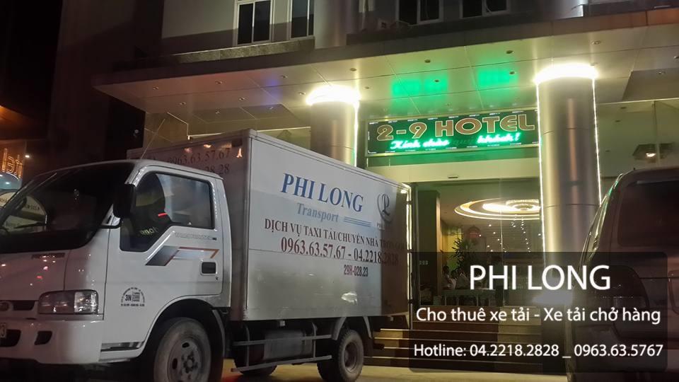 Phi Long cho thuê xe tải giá rẻ tại phố Quan Nhân