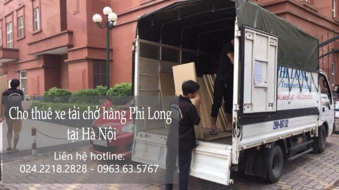Dịch vụ cho thuê xe tải chở hàng thuê tại phố Giáp Nhất