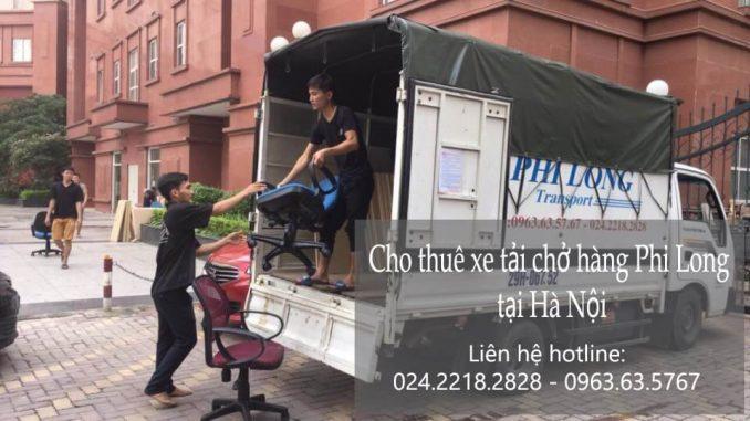 Cho thuê xe tải chở hàng thuê tại phố Châu Long
