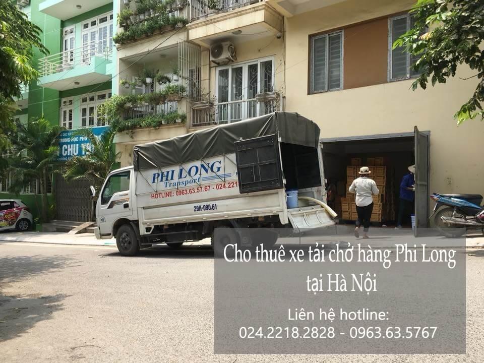 Dịch vụ xe tải chở hàng thuê tại phố Cầu Bây