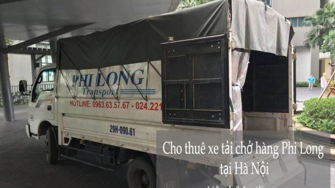 Xe tải chở hàng thuê tại phố Mai Xuân Thưởng