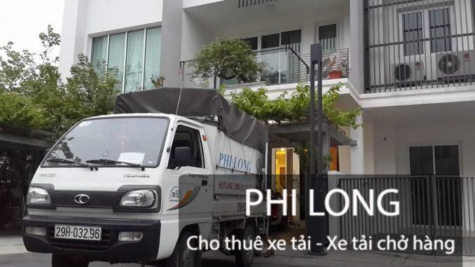 Dịch vụ taxi tải chở hàng tại phố Nguyễn Tuân-Phi Long