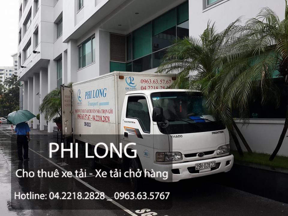 Cho thuê xe tải chở hàng tại phố Nguyễn Tuân