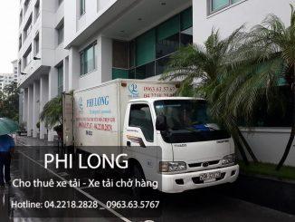 Cho thuê xe tải giá rẻ tại phố Lê Lợi hãy gọi hãng taxi tải Phi Long