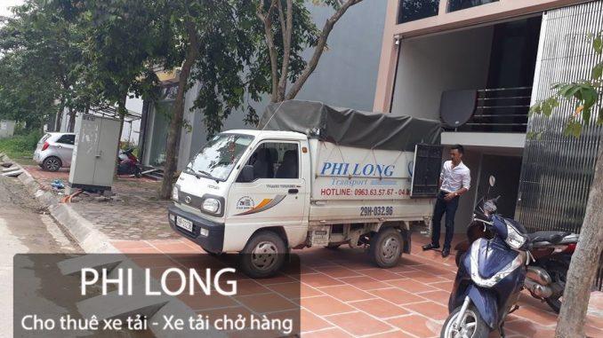 Công ty Phi Long hãng cho thuê xe tải chuyển nhà giá rẻ phố Lê Lợi