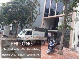 Dịch vụ cho thuê xe tải chuyển nhà Phi Long tại đường Nguyễn Huy Tưởng