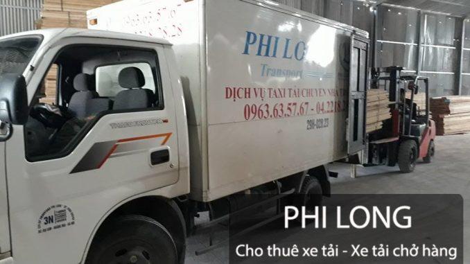 Phi Long hãng cho thuê xe tải chở hàng giá rẻ tại phố Hoàng Ngân