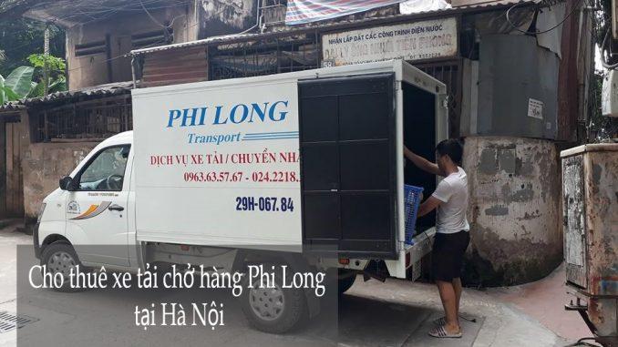 Cho thuê xe tải chuyên nghiệp tại phố Huế-0963.63.5767