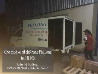 Dịch vụ cho thuê xe tải chở hàng giá rẻ tại đường Thiên Hiền