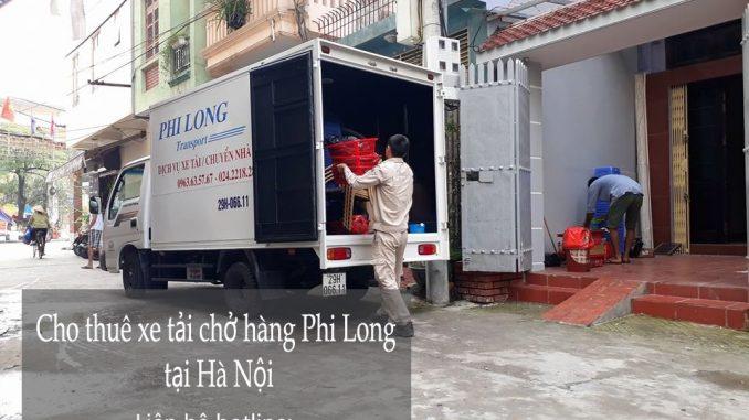 Dịch vụ xe tải chở hàng thuê tại phố Trần Thủ Độ
