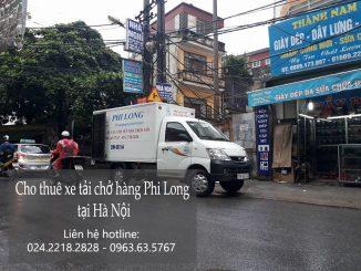 Cho thuê xe tải chở hàng thuê tại phố Yên Duyên