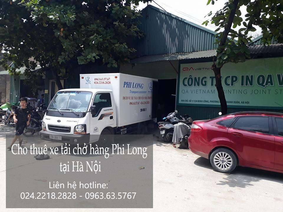 Cho thuê xe tải chở hàng thuê tại phố Đặng Vũ Hỷ-0963.63.5767