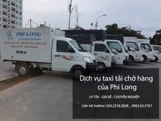 Xe tải chở hàng thuê đi liên tỉnh tại phố Nguyễn Công Trứ