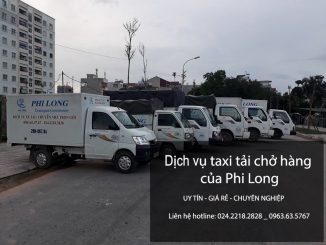 Xe tải chở hàng thuê tại phố Phú Thượng