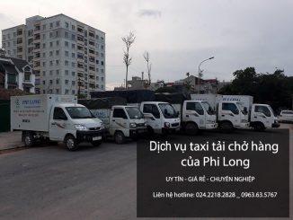 Xe tải chở hàng thuê tại phố Ỷ Lan