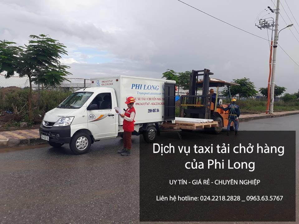 Xe tải chở hàng thuê tại phố Vĩnh Hồ