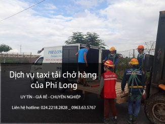 Cho thuê xe tải chở hàng tại phố Phó Đức Chính