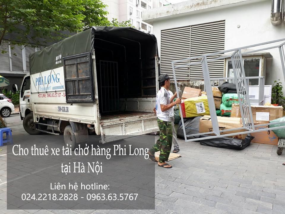 Cho thuê xe tải chở hàng thuê tại phố Lệ Mật