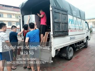 Cho thuê xe tải chở hàng uy tín tại phố Lâm Hạ-0963.63.5767