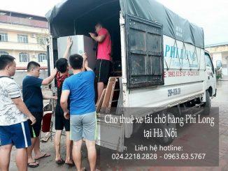 Cho thuê xe tải chở hàng giá rẻ tại phố Thiên Hiền