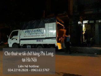 Dịch vụ cho thuê xe tải chở hàng thuê tại đường Nhân Mỹ