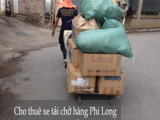 Cho thuê xe tải chở hàng thuê tại phố Đức Giang