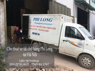 Cho thuê xe tải chở hàng thuê tại phố Phó Đức Chính