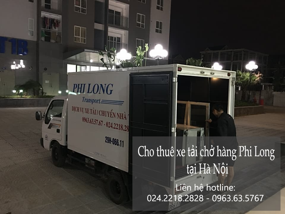 Xe tải chở hàng thuê tại phố Kim Giang
