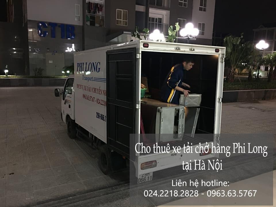 Xe tải chở hàng thuê tại phố Nam Đồng
