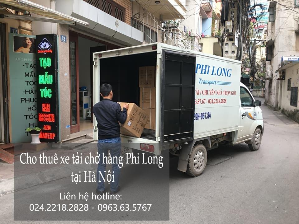 Xe tải chở hàng từ Hà Nội đi Vĩnh Phúc