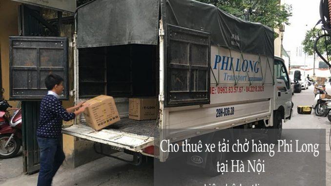 Cho thuê xe tải chở hàng tại phố Hội Xá