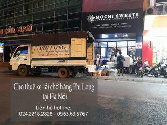 Xe tải chở hàng thuê tại phố Đông Thiên